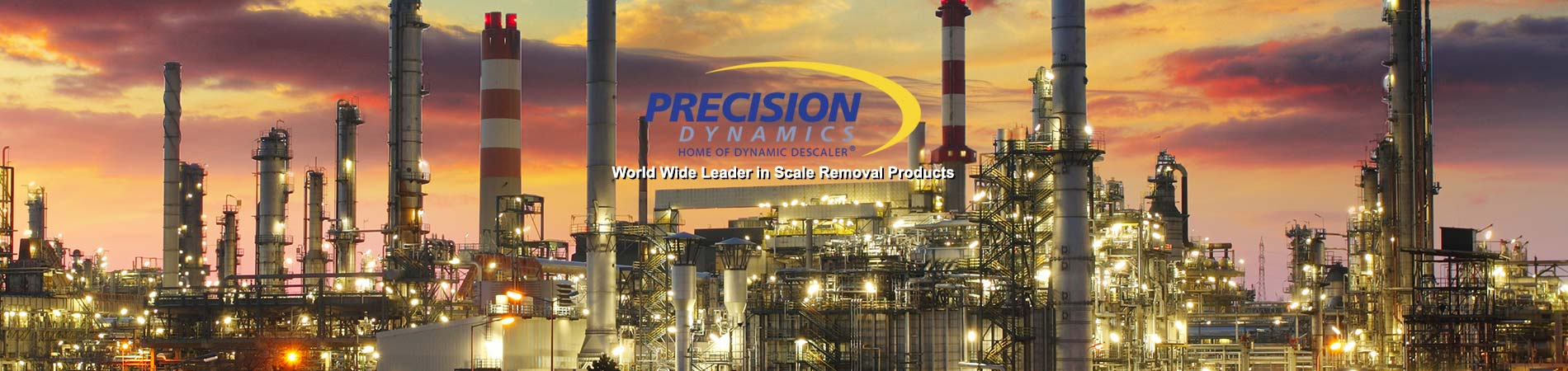 Precision Dynamics supply us with the best chemical cleaning solution world wide for our tube cleaning equipment