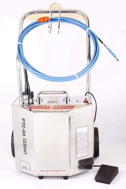 Electric tube cleaning systems and components