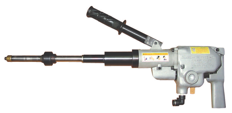 Lever type internal tube cutter.